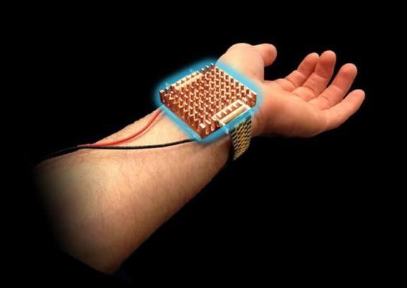 Wristify: pulseira que permite regular a temperatura corporal
