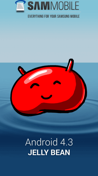 Android 4.3 Jelly Bean Galaxy S III gt-i9300 S3 (1)