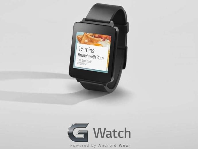 LG-G-Watch com Android Wear Google