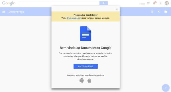 Google Documentos Planilhas e Apresentacoes ganham nova cara com Material Design  Apresentacoes  Intro