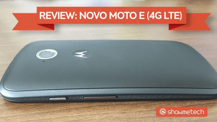 Novo Moto E - Showmetech Review (CAPA)