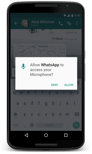 permissões-apps