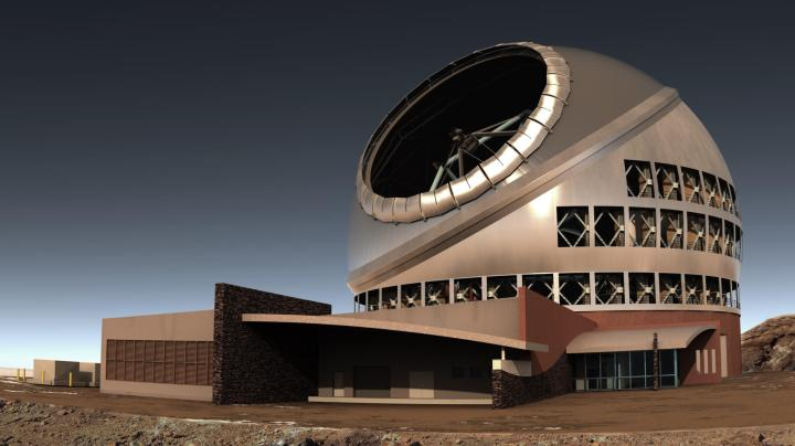 side view of tmt complex