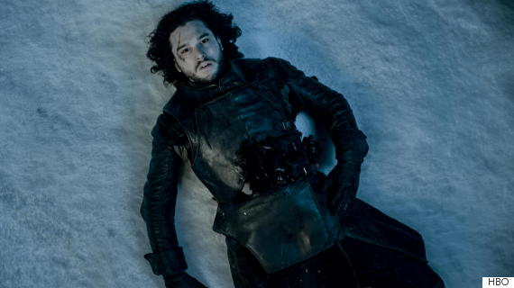 A Morte de Jon Snow (Foto: Reprodução/HBO)