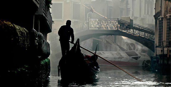 X-Wing nos canais de Veneza