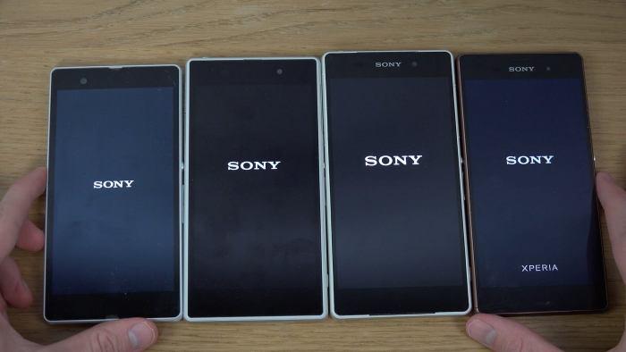 Modelos da linha Xperia Z da Sony