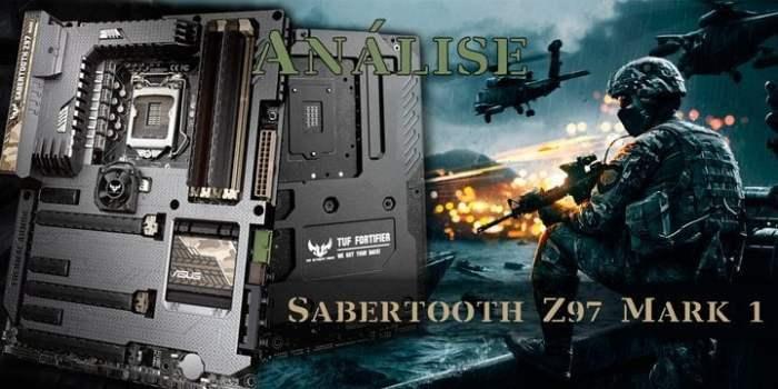Análise completa: placa mãe ASUS Sabertooth Z97 Mark 1