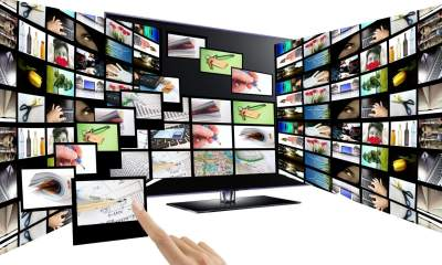 3D interactice television concept