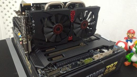 Asus Radeon R7 370 Strix 4 GB cooler