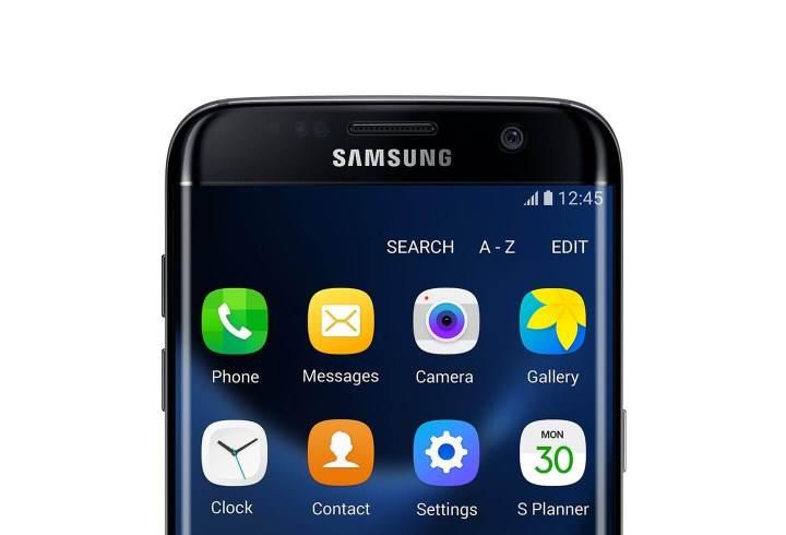Galaxy S7 Edge - Tela duplamente curva, que aproveita mais o espaço frontal do aparelho.
