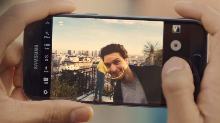 Câmera do Galaxy S7 Edge