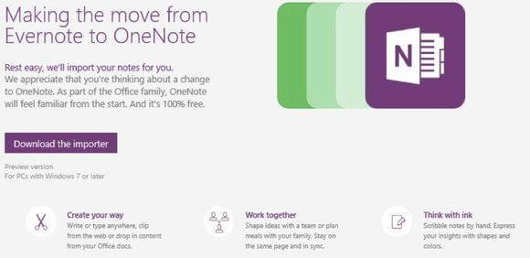 OneNote-Evernote