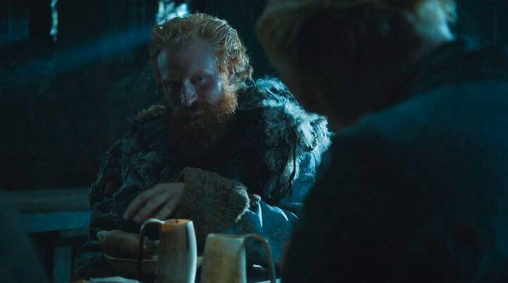 Namore alguém que te olha como o Tormund olha para Brienne