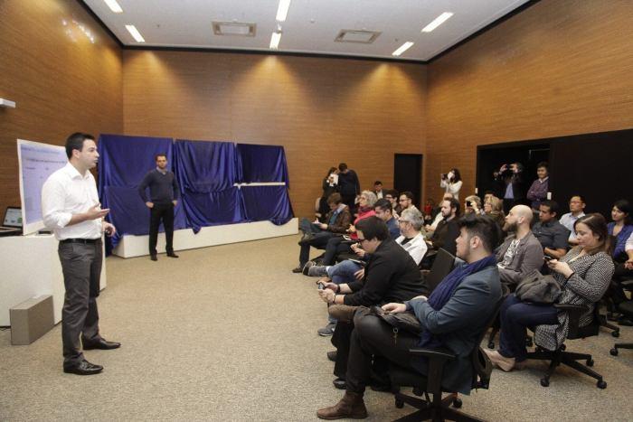 Seminário sobre as novas tecnologias das TVs SUHD 2016 da Samsung