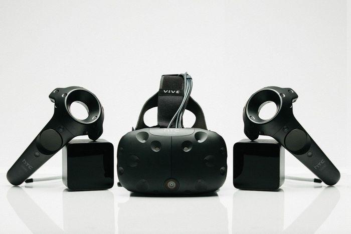 A VR Games utiliza o kit HTC Vive completo em suas experiências de Realidade Virtual