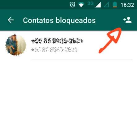 como bloquear contatos do WhatsApp