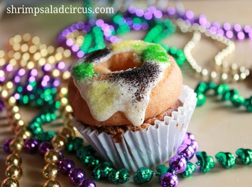 Mardi Gras King Cake Cupcakes - Good Eats