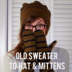 Hat & Mittens Sewing Tutorial