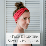 7 Free Sewing Patterns & Tutorials for Beginners