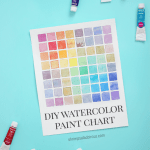 DIY Watercolor Chart