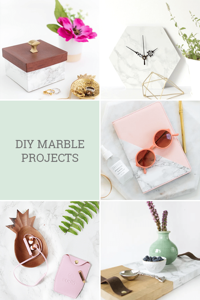 DIY Marble Projects & Favorite Finds No.