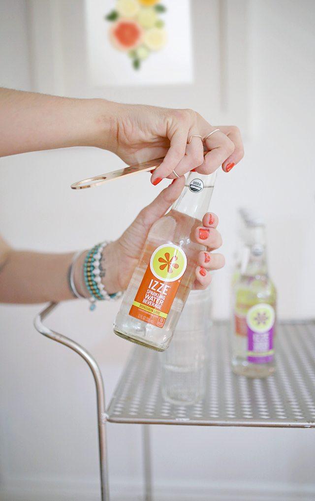 IZZE Sparkling Water - Mandarin Lime