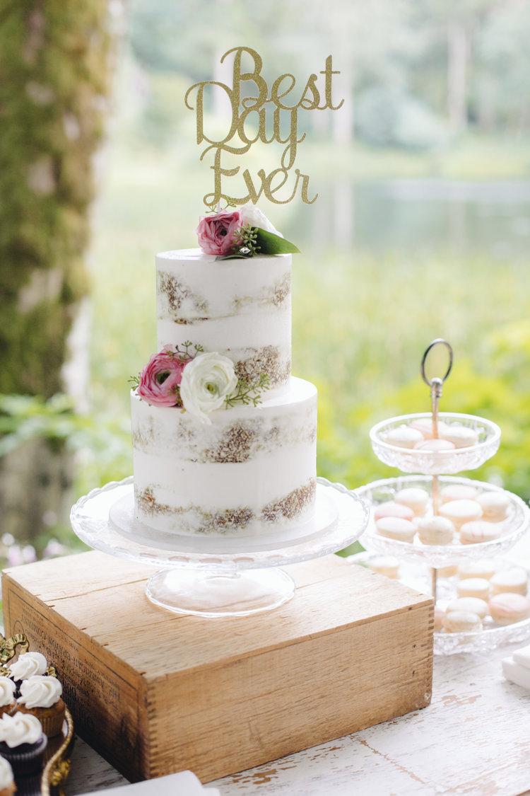 Fullsize Of Simple Wedding Cakes