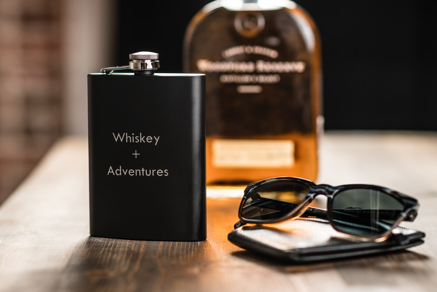 Superb This Classic Man Gift Gets Even Better When You Add His Monogramor A Keep This Flask Close Throughout Weekendwhen Easy Man Gift Ideas Shutterfly gifts Best Man Gifts