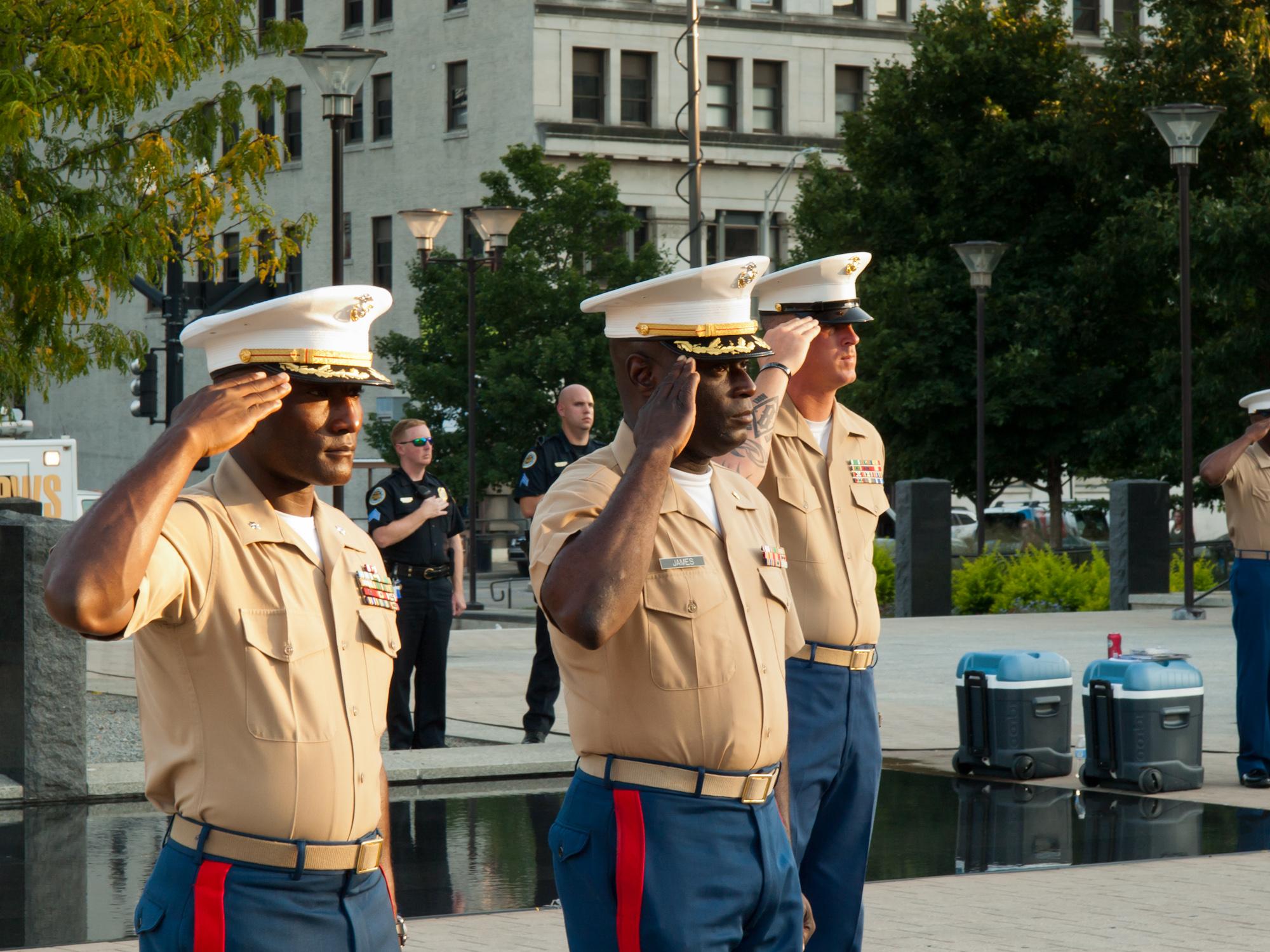 Marine Week in Nashville – OORAH!!