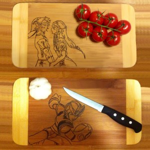 Character Cutting Boards Shut Up And Take My Yen : Anime & Gaming Merchandise