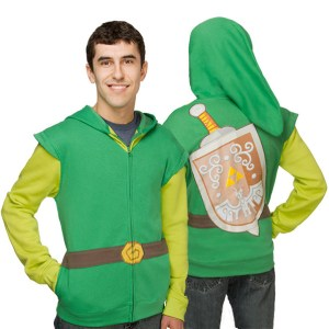 Legend of Zelda Link Hoodie Shut Up And Take My Yen : Anime & Gaming Merchandise