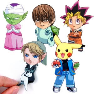 Cosplay Mix & Match Magnets Shut Up And Take My Yen : Anime & Gaming Merchandise