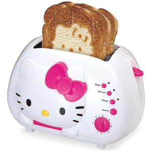 Hello Kitty Toaster Shut Up And Take My Yen : Anime & Gaming Merchandise