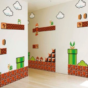 Super Mario Wall Graphics Shut Up And Take My Yen : Anime & Gaming Merchandise