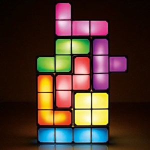 Stackable Tetris Lamp