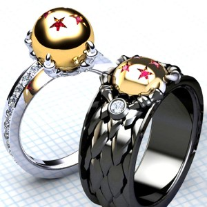 Dragon Ball Z Rings