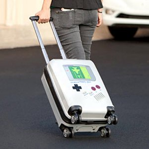 Game Boy Luggage Bag Shut Up And Take My Yen : Anime & Gaming Merchandise