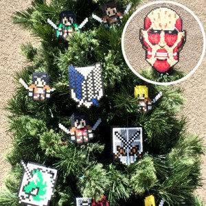 Attack On Titan Christmas Tree Decorations Shut Up And Take My Yen : Anime & Gaming Merchandise