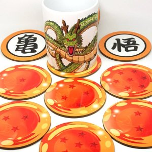 Dragon Ball Z Coasters Shut Up And Take My Yen : Anime & Gaming Merchandise