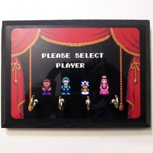 Super Mario Brothers Key Hanger
