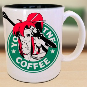 Yoko Gurren Lagann Starbucks Mug Shut Up And Take My Yen : Anime & Gaming Merchandise