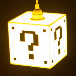 Super Mario Question Block Lamp