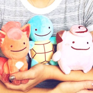 Pokemon Transformed Ditto Plushies
