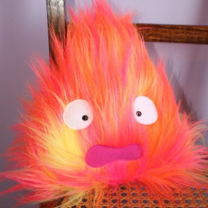 Howl's Moving Castle Calcifer Plush