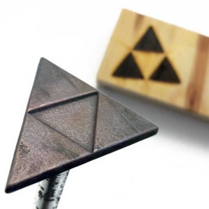Legend Of Zelda Triforce Branding Iron