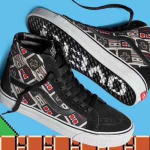 NES Game Over Vans Shoes
