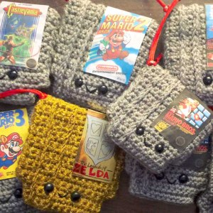 NES Cartridge Crochet Patterns