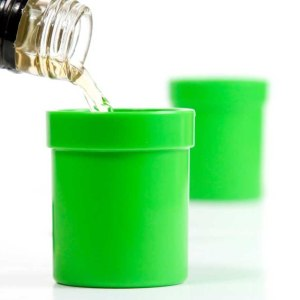 Super Mario Warp Pipe Shot Glasses