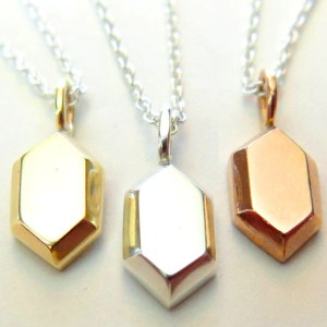 elda Gold/Silver Rupee Necklace
