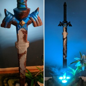 Legend Of Zelda Master Sword Breath of the Wild